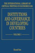 Cover Institutions and Governance in Developing Countries