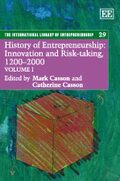 Cover History of Entrepreneurship: Innovation and Risk-taking, 1200–2000