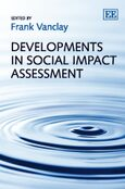 Cover Developments in Social Impact Assessment