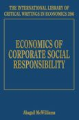 Cover Economics of Corporate Social Responsibility