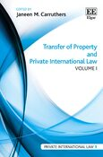 Cover Transfer of Property and Private International Law