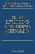 Cover Recent Developments in the Economics of Information