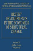 Cover Recent Developments in the Economics of Structural Change
