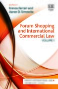 Cover Forum Shopping and International Commercial Law