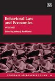 Cover Behavioral Law and Economics