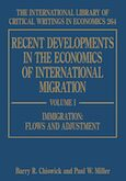 Cover Recent Developments in the Economics of International Migration