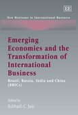 Cover Emerging Economies and the Transformation of International Business