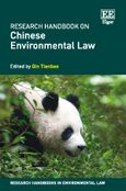 Cover Research Handbook on Chinese Environmental Law