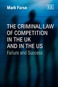 Cover The Criminal Law of Competition in the UK and in the US