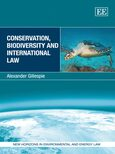 Cover Conservation, Biodiversity and International Law