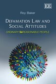 Cover Defamation Law and Social Attitudes