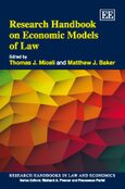 Cover Research Handbook on Economic Models of Law