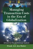 Cover Managing Transaction Costs in the Era of Globalization