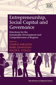 Cover Entrepreneurship, Social Capital and Governance