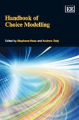 Cover Handbook of Choice Modelling