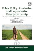 Cover Public Policy, Productive and Unproductive Entrepreneurship