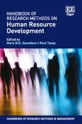 Cover Handbook of Research Methods on Human Resource Development