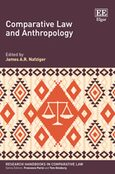Cover Comparative Law and Anthropology