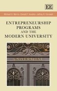 Cover Entrepreneurship Programs and the Modern University