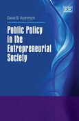 Cover Public Policy in the Entrepreneurial Society