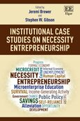 Cover Institutional Case Studies on Necessity Entrepreneurship