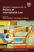 Cover Research Handbook on the Politics of International Law