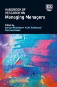 Cover Handbook of Research on Managing Managers