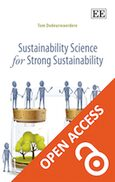 Cover Sustainability Science for Strong Sustainability