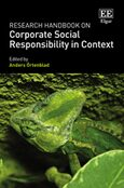Cover Research Handbook on Corporate Social Responsibility in Context