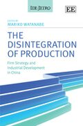 Cover The Disintegration of Production