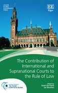 Cover The Contribution of International and Supranational Courts to the Rule of Law