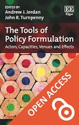 Cover The Tools of Policy Formulation