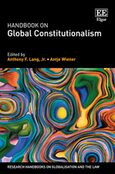 Cover Handbook on Global Constitutionalism
