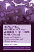 Cover Resale Price Maintenance and Vertical Territorial Restrictions