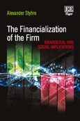 Cover The Financialization of the Firm