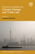 Cover Research Handbook on Climate Change and Trade Law