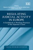 Cover Regulating Judicial Activity in Europe
