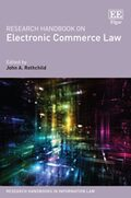 Cover Research Handbook on Electronic Commerce Law