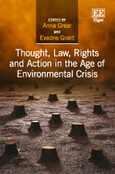 Cover Thought, Law, Rights and Action in the Age of Environmental Crisis