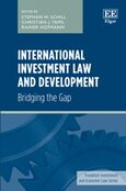 Cover International Investment Law and Development