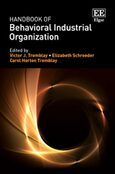 Cover Handbook of Behavioral Industrial Organization