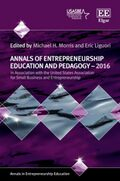Cover Annals of Entrepreneurship Education and Pedagogy – 2016