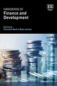 Cover Handbook of Finance and Development