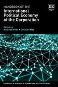 Cover Handbook of the International Political Economy of the Corporation