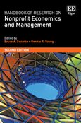 Cover Handbook of Research on Nonprofit Economics and Management