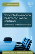 Cover Corporate Governance, The Firm and Investor Capitalism
