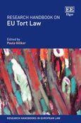Cover Research Handbook on EU Tort Law