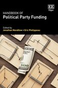 Cover Handbook of Political Party Funding