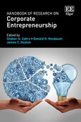 Cover Handbook of Research on Corporate Entrepreneurship