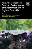 Cover Research Handbook on Quality, Performance and Accountability in Higher Education